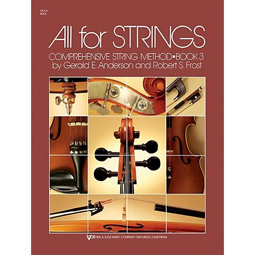 KJOS All For Strings 3 Viola-thumbnail