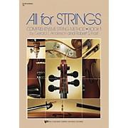 KJOS All For Strings Book 1