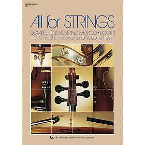 KJOS All For Strings Book 1 by KJOS