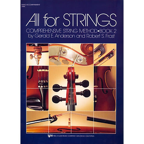 KJOS All For Strings Book 2-PIANO-thumbnail