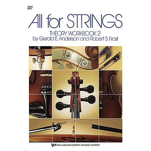 KJOS All For Strings Theory Workbook 2 Violin