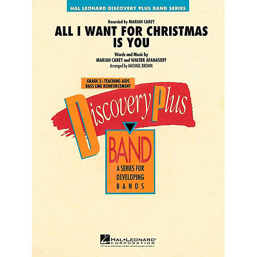 Hal Leonard All I Want For Christmas Is You Concert Band Level 2-thumbnail
