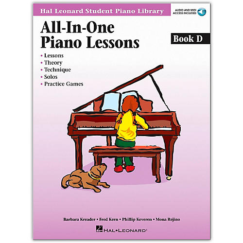 Hal Leonard All-In-One Piano Lessons Book D (Book/Online Audio)