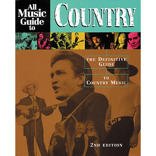 Backbeat Books All Music Guide to Country - 2nd Edition Book-thumbnail