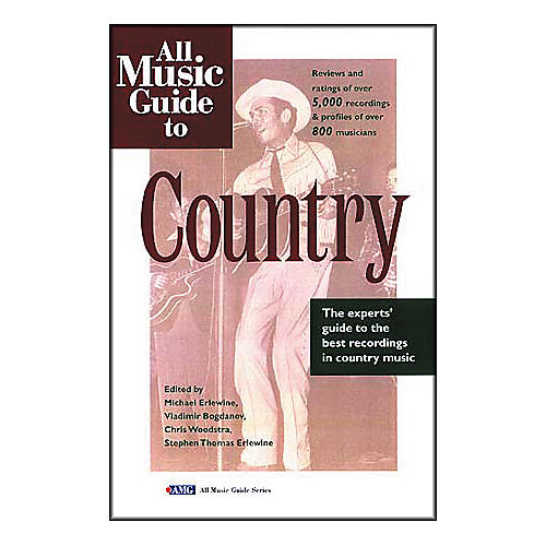 Backbeat Books All Music Guide to Country Book