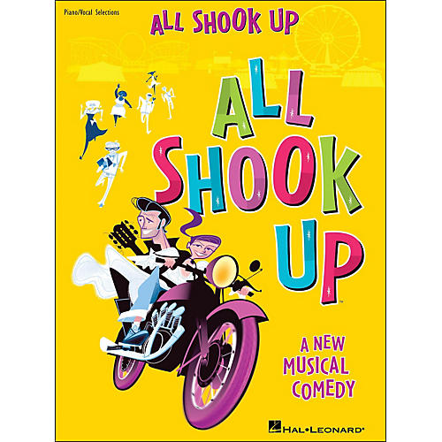 Hal Leonard All Shook Up arranged for piano, vocal, and guitar (P/V/G)-thumbnail