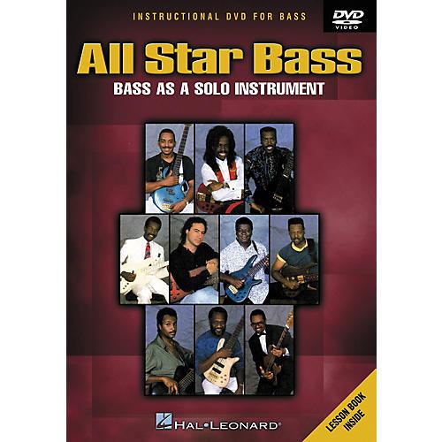 Hal Leonard All Star Bass - Bass As a Solo Instrument (DVD)-thumbnail