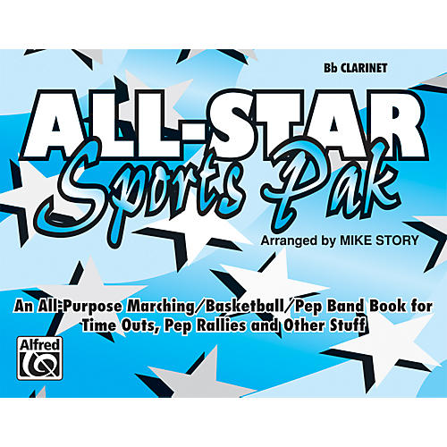 Alfred All-Star Sports Pak B-Flat Clarinet-thumbnail