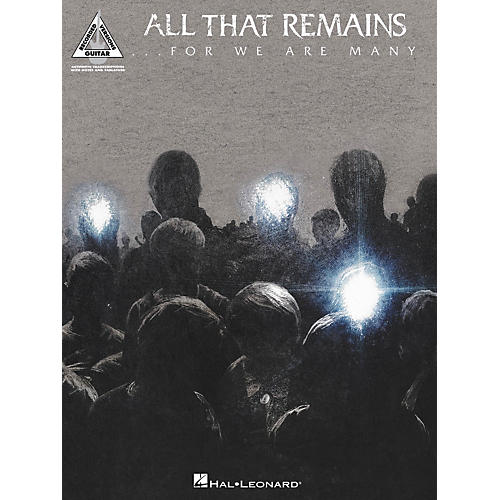 Hal Leonard All That Remains - For We Are Many Songbook-thumbnail