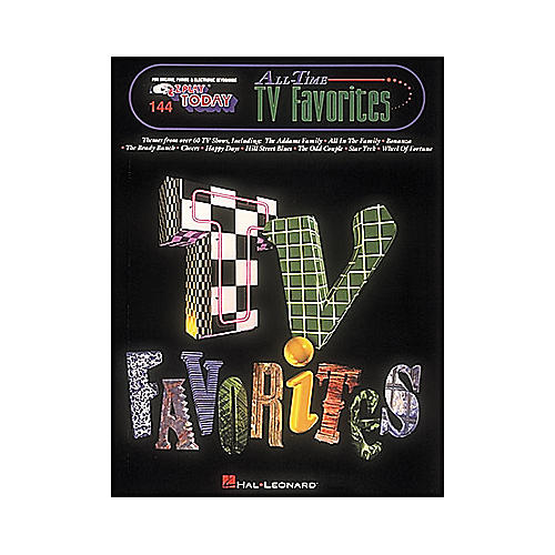 Hal Leonard All Time TV Favorites E-Z Play 144