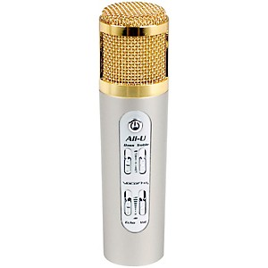 VocoPro All-U Karaoke Microphone for Android and iOS by VocoPro