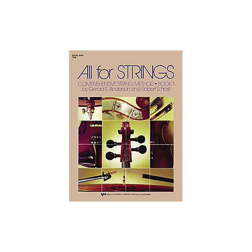 KJOS All for Strings 1 String Bass Book-thumbnail