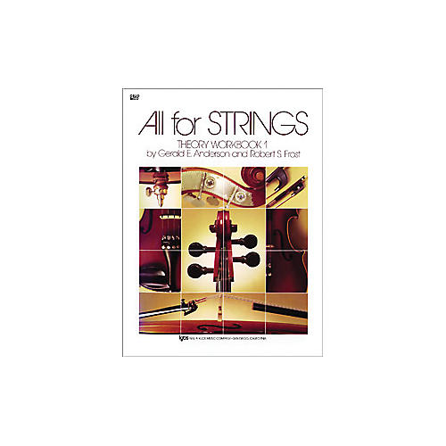KJOS All for Strings 1 Theory Workbook Cello