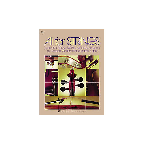 KJOS All for Strings Book 1 Viola-thumbnail