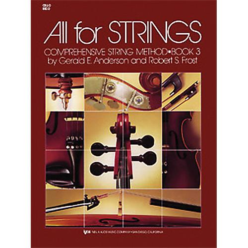 KJOS All for Strings Cello Book 3