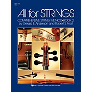 KJOS All for Strings String Bass Book 2