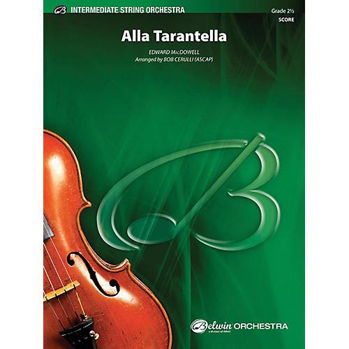 Alfred Alla Tarantella String Orchestra Grade 2.5-thumbnail