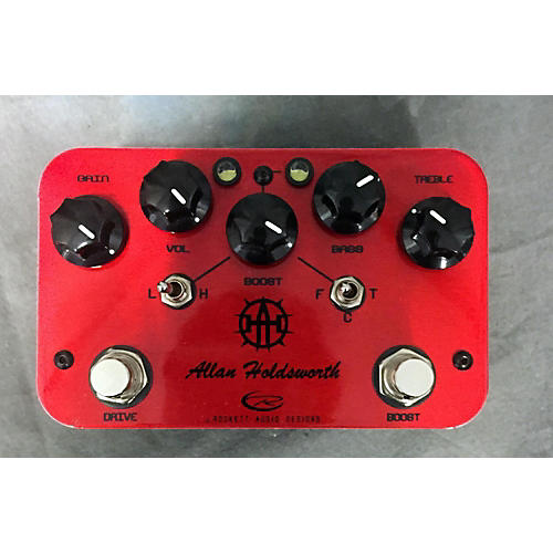 Rockett Pedals Allan Holdsworth Overdrive Red Effect Pedal