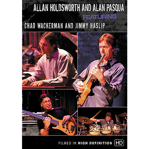 Hal Leonard Allan Holdsworth and Alan Pasqua Live At Yoshi's (DVD)-thumbnail