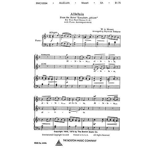 Boston Music Alleluia SA