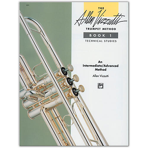 Alfred Allen Vizzutti Trumpet Method Book 1 Technical Studies-thumbnail