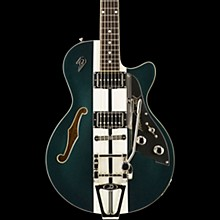 Duesenberg USA Alliance Mike Campbell 40th Anniversary Semi-Hollowbody Electric Guitar Catalina Green/White