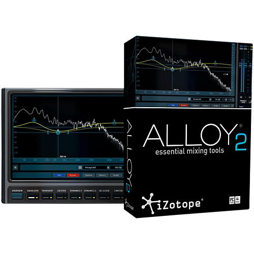 iZotope Alloy 2 Essential Mixing Tools-thumbnail