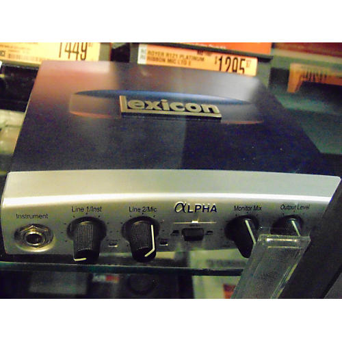 Lexicon Alpha Audio Interface-thumbnail