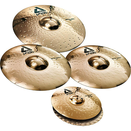 Paiste Alpha Brilliant Cymbal Pack-thumbnail