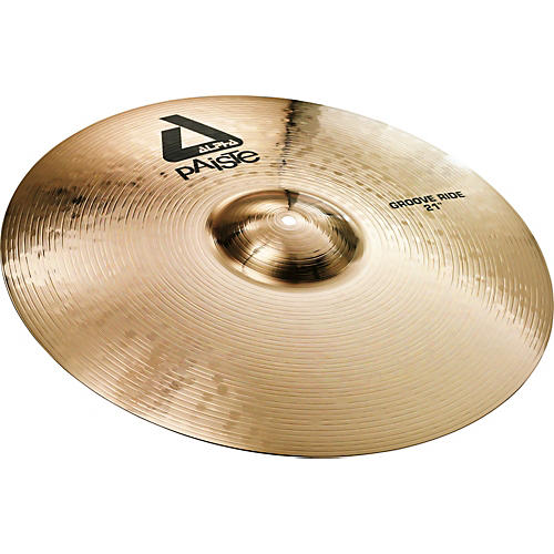 Paiste Alpha Brilliant Groove Ride Cymbal 21 in.