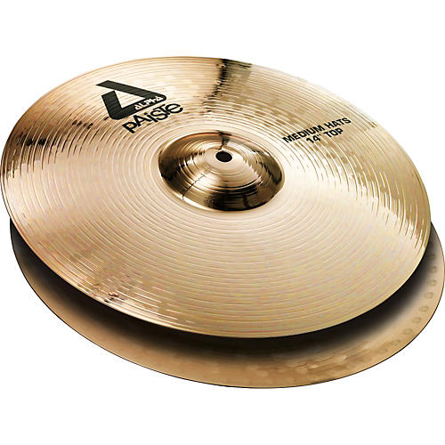Paiste Alpha Brilliant Medium Hi-Hat Pair-thumbnail