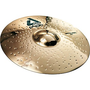 Paiste Alpha Brilliant Metal Ride Cymbal by Paiste