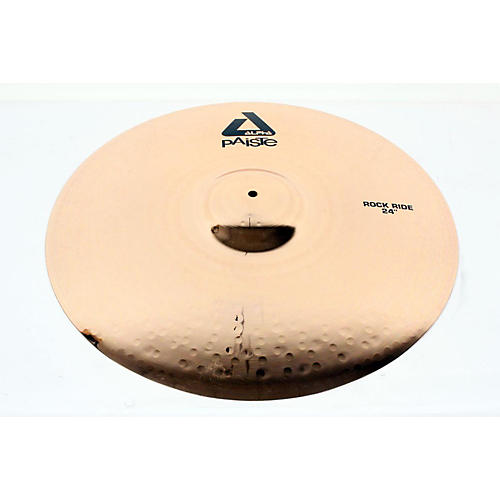 Paiste Alpha Brilliant Rock Ride Cymbal 24 in. 888365138503