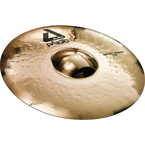 Paiste Alpha Metal Crash Cymbal with Brilliant Finish