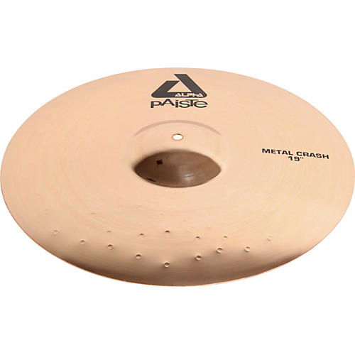 Paiste Alpha Metal Crash Cymbal with Brilliant Finish-thumbnail