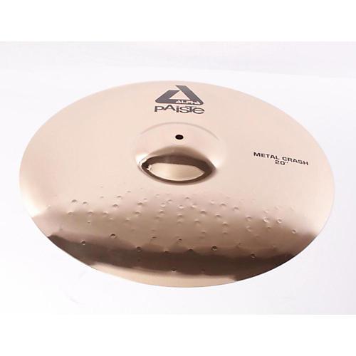 Paiste Alpha Metal Crash Cymbal with Brilliant Finish