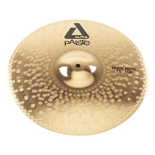 Paiste Alpha Rock Hi-Hat Cymbal Top 15 in.