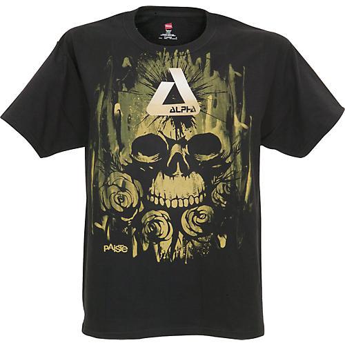 Paiste Alpha Rose Skull T-Shirt