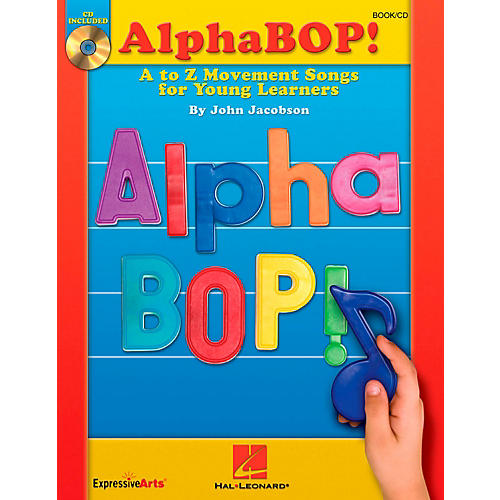 Hal Leonard AlphaBOP! A to Z Movement Songs for Young Learners Book/CD-thumbnail