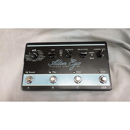 TC Electronic Alter Ego Vintage Echo X4 Effect Pedal-thumbnail