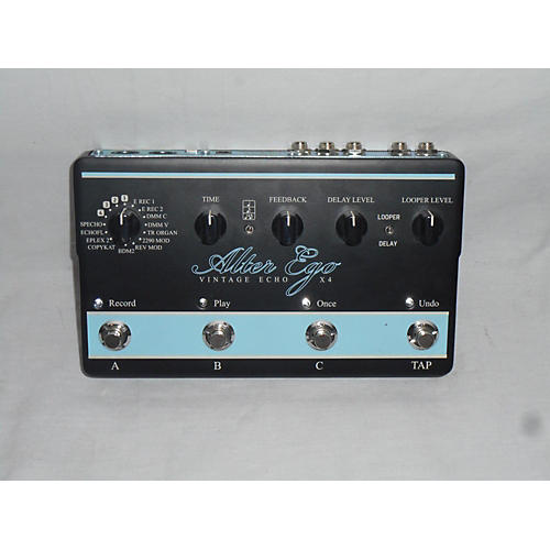 TC Electronic Alter Ego Vintage Echo X4 Effect Pedal