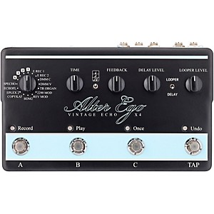 TC Electronic Alter Ego X4 Vintage Echo Effects Pedal by TC Electronic