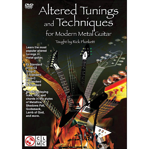 Cherry Lane Altered Tunings And Techniques for Modern Metal Guitar (Dvd)-thumbnail