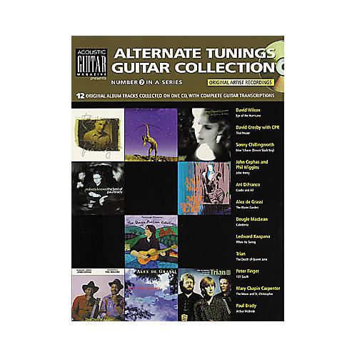 String Letter Publishing Alternate Tunings Guitar Collection (Book/CD)