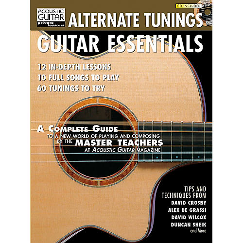 Hal Leonard Alternate Tunings Guitar Essentials Book/CD-thumbnail