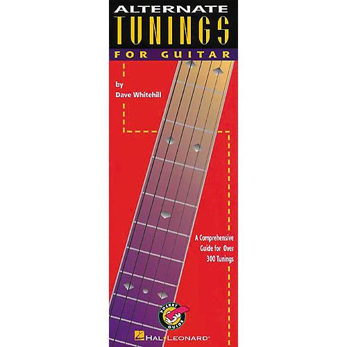 Hal Leonard Alternate Tunings for Guitar Book