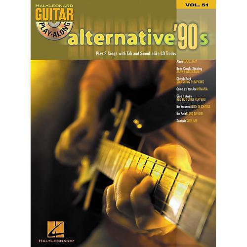 Hal Leonard Alternative '90s Guitar Play-Along Series Book & CD, Volume 51-thumbnail
