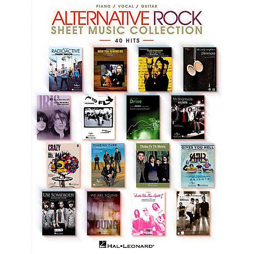 Hal Leonard Alternative Rock Sheet Music Collection Piano/Vocal/Guitar Songbook-thumbnail