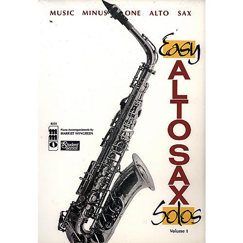 Hal Leonard Alto Sax Solos Volume 1