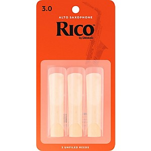 Rico Alto Saxophone Reeds, Box of 3 by Rico